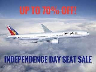 PAL Seat Sale