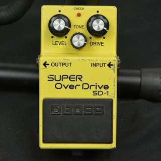 BOSS SUPER OverDrive SD-1 超級破音 電吉他效果器*現金收購 樂器買賣 二手樂器吉他 鼓 貝斯 電子琴 音箱 吉他收購