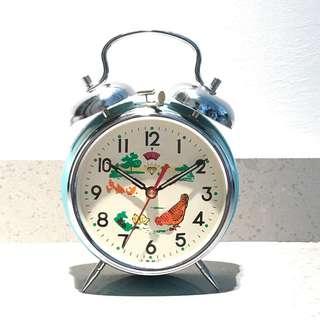 Diamond alarm clock chicken