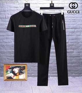 Setelan Baju Pria Gucci Pre Order