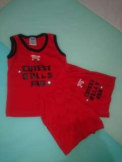 NBA baby clothes set