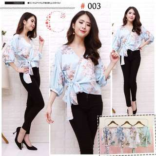 Cr 003 lily blouse GF 90.000 Bahan maxmara fit to L ld92cm