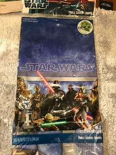 Brand new authentic Star Wars party back drop