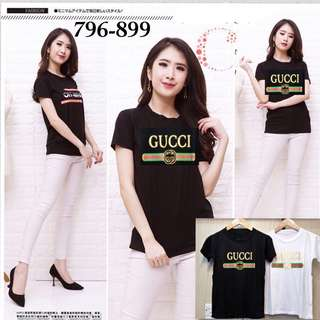 Cr 796-899 kaos gucci GF 65.000 Bahan spandex fit to L real picture