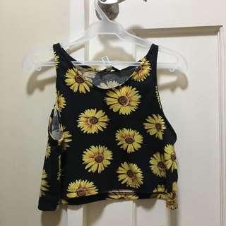 Sunflower summer top