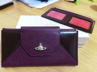 Vivienne Westwood Wallet 長銀包 90%new 正品