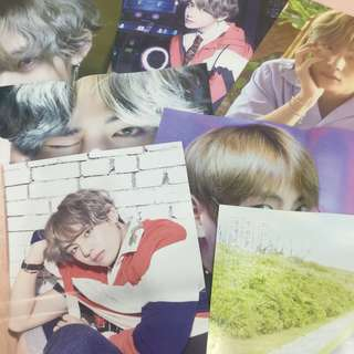 FREE NM | BTS V unofficial posters set