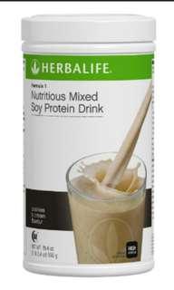 Herbalife Formula 1 Nutricious Shake (cookies & cream)