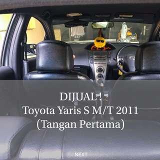 Toyota Yaris S M/T 2011