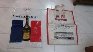 1980年代,購物袋兩個