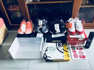 Combo 3 Unit Adidas NMD and 1 Unit Nike Air Max 1