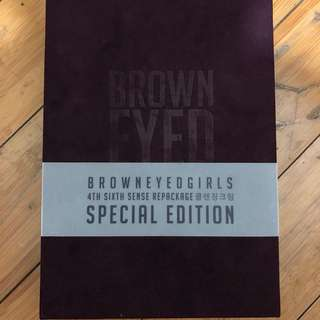 Brown eyed girls DVD 寫真  典藏版