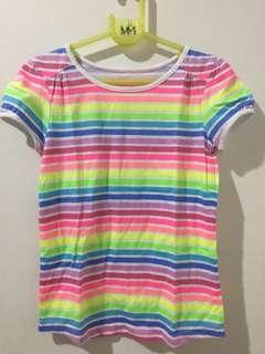 Rainbow stripes shirt