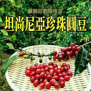🚚 坦尚尼亞珍珠圓豆(半磅裝咖啡豆)