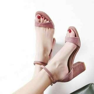 Block heels size 39