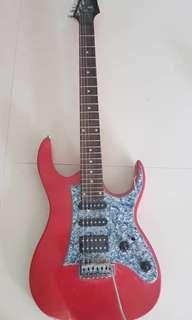 Electric guitar:- Deviser