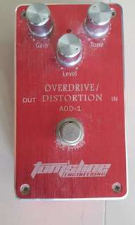 Guitar Overdrive/Distortion Pedal: TOMSLINE ENGINEERING