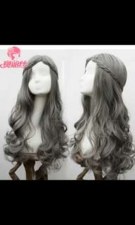 Preorder' Lolita wavy curly ladies wig with braids *Waiting time 15 days after payment is made *pm to order