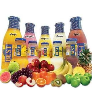 Minuman nectar@pati buah