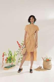 Label8store caramel merion dress