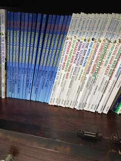 Grolier children's  encyclopedia 48 books total
