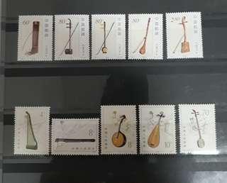 China stamps full set new