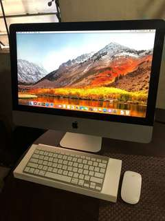 iMac 2011 21.5 desktop updates