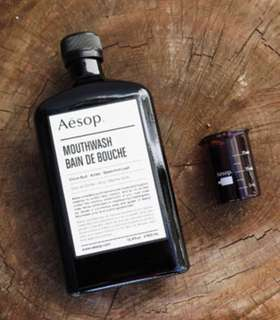 BN Aesop Mouth Wash with Beaker