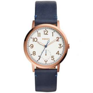 [MUST GO] FOSSIL ES4062 Everyday Muse Multifunction Leather Watch