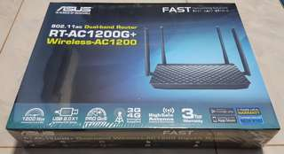 Brand new, unopened, ASUS RT-AC1200G+