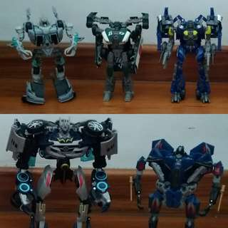 Transformers Dark of the Moon Movie Action Figures