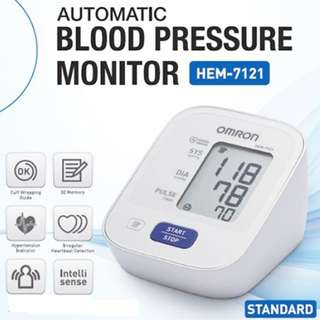 Brand New! Automatic Omron Blood Pressure Monitor (ARM) - HEM - 7121 - 30 memories