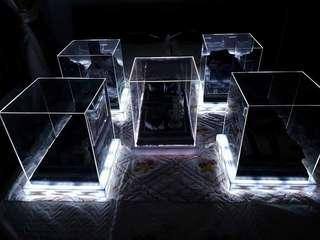 Gubahan Acrylic with LED