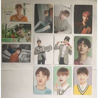 WTS Wanna One Unofficial Photo Cards