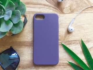 Violet TPU case for iPhone 7 or iPhone 8
