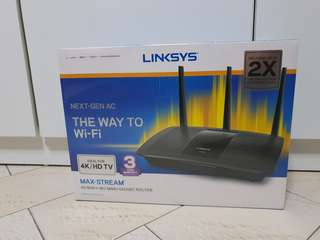 Linksys Max-Stream AC1900+ Router *NEW*