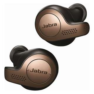 [IN-STOCK] Jabra - Elite 65t True Wireless Earbud Headphones - Copper Black