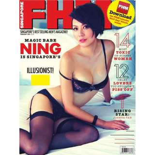 FHM Singapore - February 2013 - Magic Babe Ning