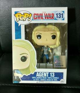 Agent 13 Marvel Funko Pop