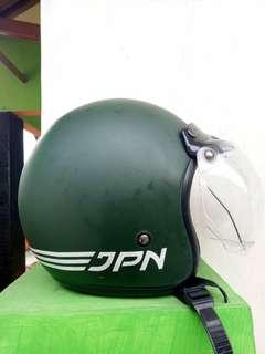 Helm JPN Hijau Army