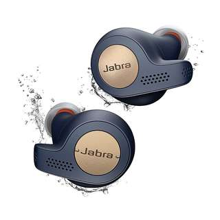 [IN-STOCK] Jabra Elite Active 65t True Wireless Bluetooth Earbuds with Charging Case and One-Touch Amazon Alexa - Copper Blue