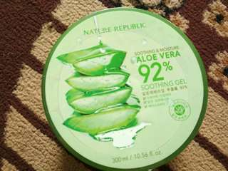 Nature republic gel aloe vera