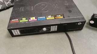 Ei8ht 電視選台器 連遙控器 連盒連保證書, 現 壞機 不著, 可能燒咗