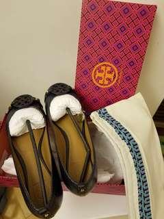 Tory Burch 平底鞋 (連鞋袋鞋盒)