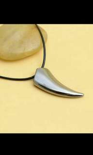 Mens Cool Pendant Steel Titanuim