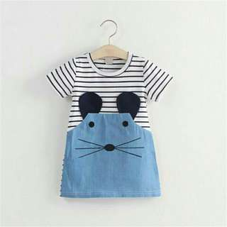 *FREE DELIVERY to WM only / Ready stock, 2pc RM40* Kids mouse dress as shown design/color. Free delivery applied for this item.