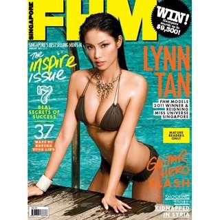 FHM Singapore - January 2013 - Miss Singapore Universe 2012, Lynn Tan