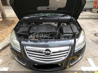 Opel Insignia 1.6A Turbo Engine