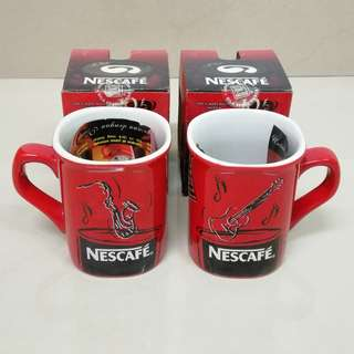 Vintage Nescafe Mug (Indonesia)