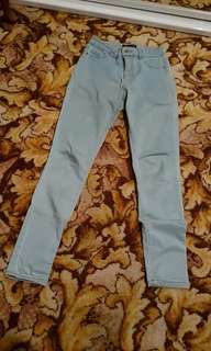 Jays Jays 'The Show Off' Washed Light Blue Jeans